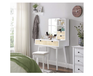 Make up tafel wit/beige