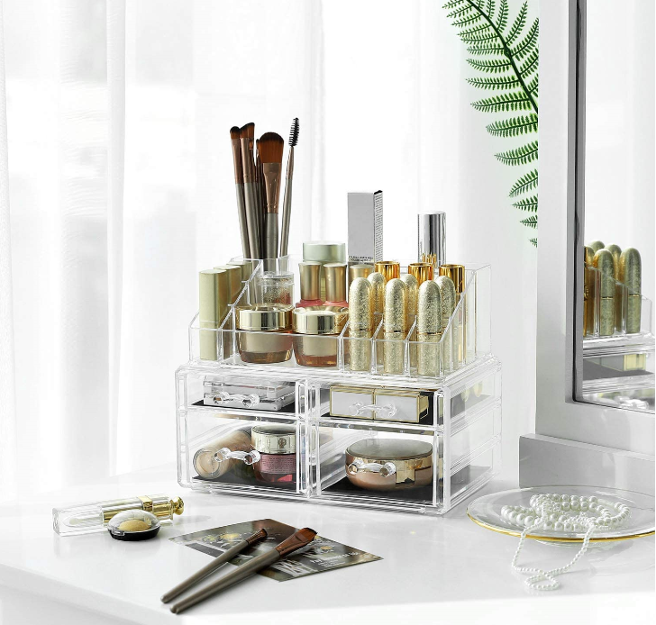 Make-up organizer opbergdoos