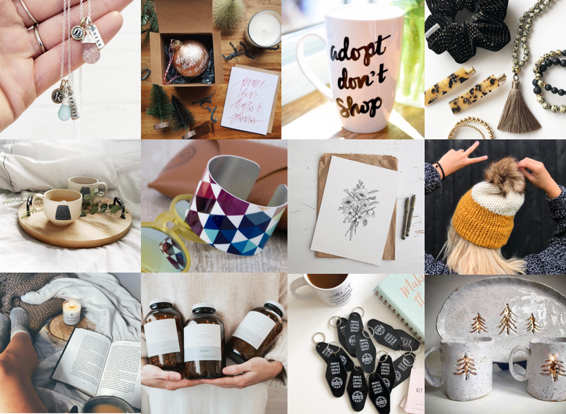 GIFT GUIDE 2019: handmade for the holidays