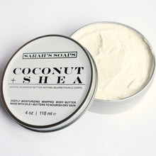 Load image into Gallery viewer, COCONUT + SHEA - body butter