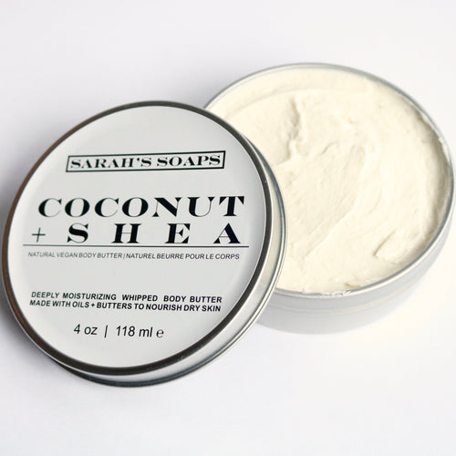 COCONUT + SHEA - body butter