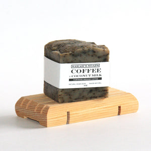 COFFEE + COCONUT MILK - bar soap