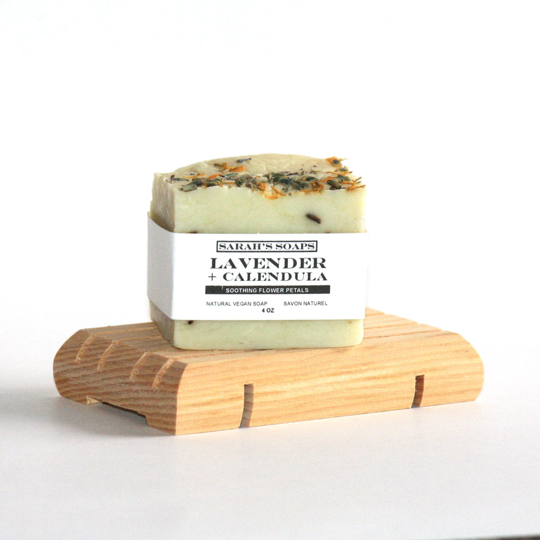 LAVENDER + CALENDULA - bar soap