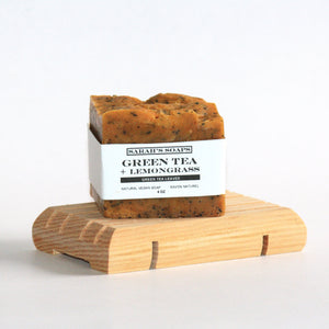 GREEN TEA + LEMONGRASS - bar soap