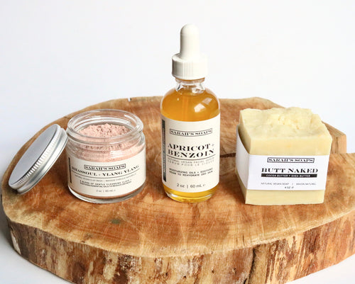 DRY/SENSITIVE - basic skincare ritual set