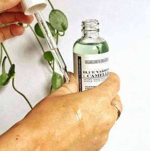 BLUE YARROW + CAMELLIA - facial serum