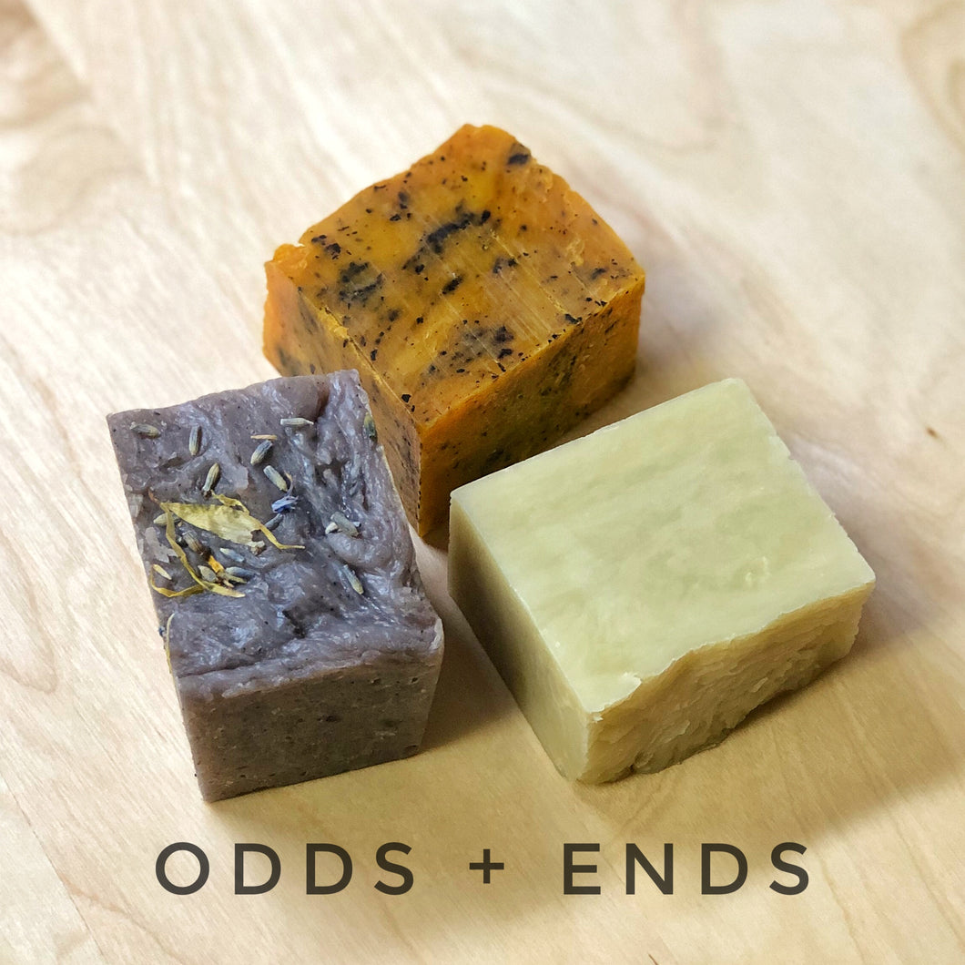 ODDS + ENDS - bar soap