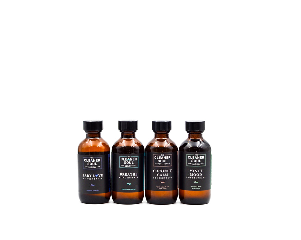 Refill Concentrate Variety 4-pack - The Cleaner Soul