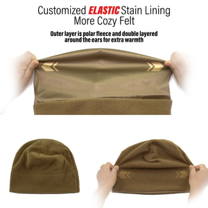 Military Watch Cap - Coyote Brown