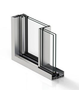 4409 x 2100 Standard Size 20mm Ultraslim Sliding door (3 tracks)