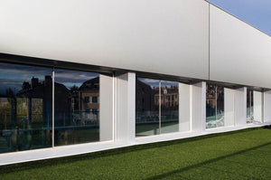 Ultraslim Sliding Door - 3 tracks (3 or 6 panels).  Price is per sq m