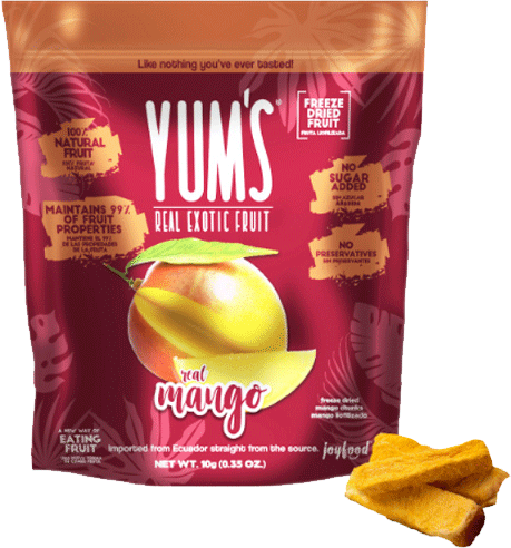 Yum's - Dried Fruit Mango 10 gr