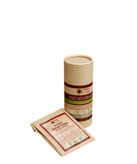 Lemongrass & Copal Natural Deodorant Cream - Fresh Collection