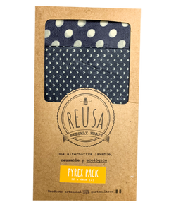 Beeswax Wrap - Pyrex 2 Pack