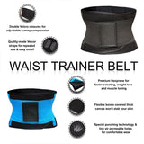 Best Neoprene Slim Waist Trimmer Belt with Velcro Strap Fitness - Infinitress