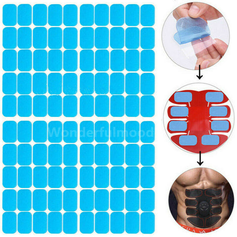 10 Gel Pad Replacement for ABS EMS Abdominal Stimulator Muscle Trainer Exerciser - Infinitress