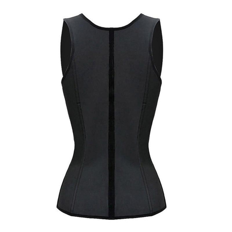 Sweat Adjustable Sauna Vest Waist Trainer Slim Fitness Exercise Workout - Infinitress