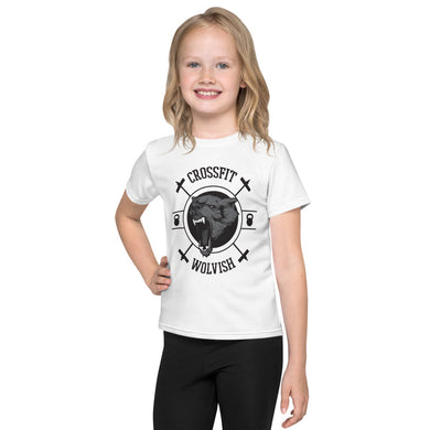 Classic OG Logo Kids Tee Black on White