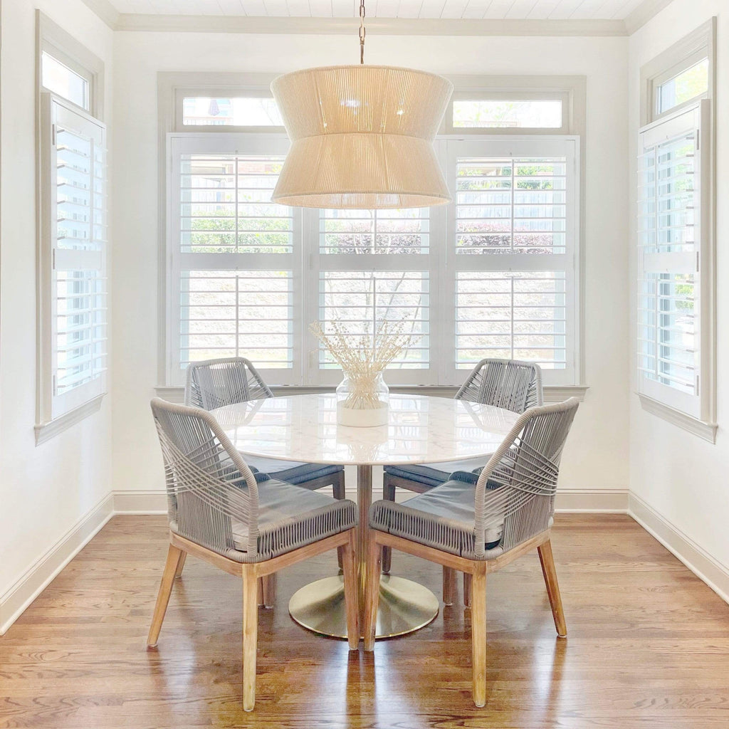 gabby pendent light over dining table