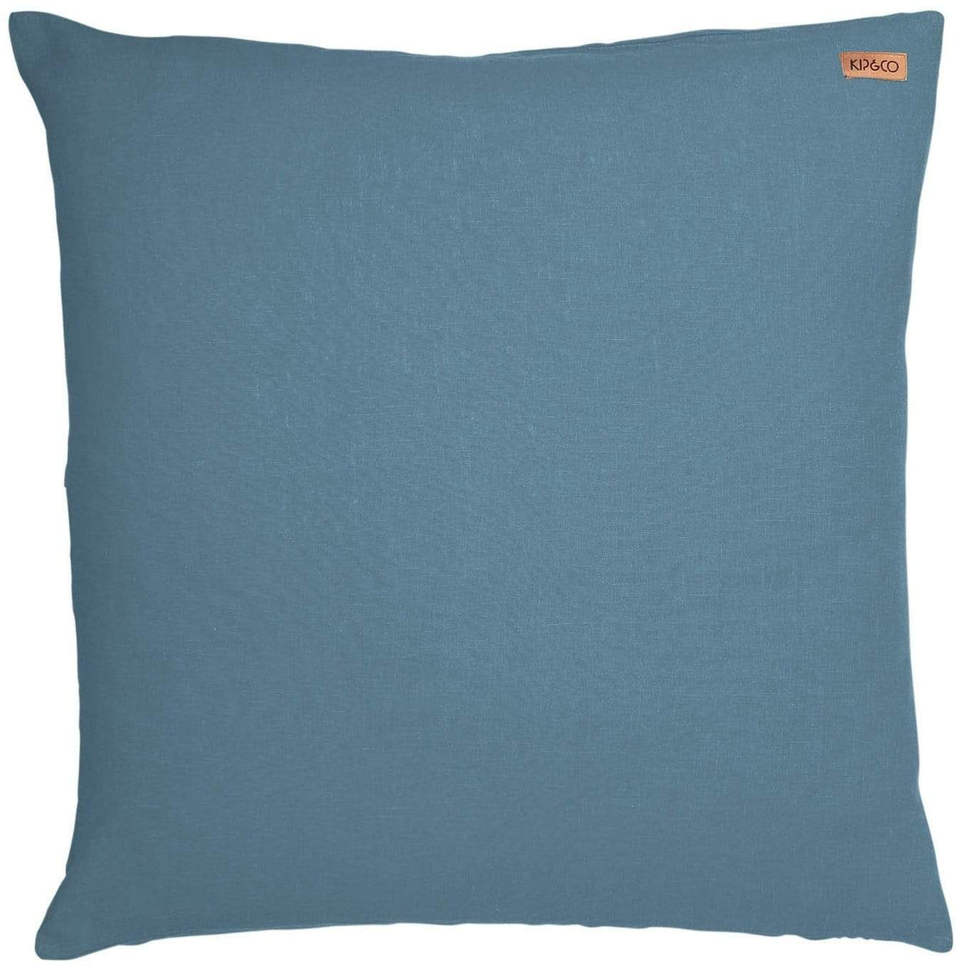 Kip Co Slate Linen Euro Sham Meadow Blu