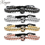 Soccer Charm Bracelets For Women Men