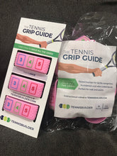 Load image into Gallery viewer, PINK Tennis Grip Guide