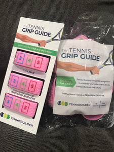 PINK Tennis Grip Guide
