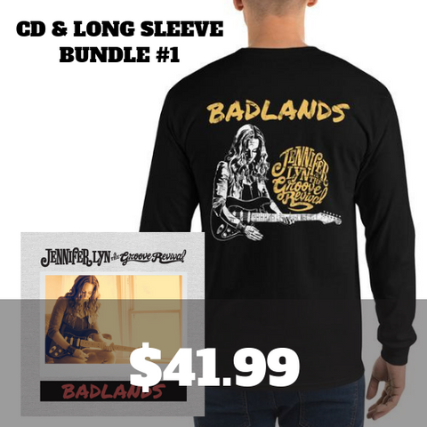Badlands CD & Long Sleeve Bundle 1