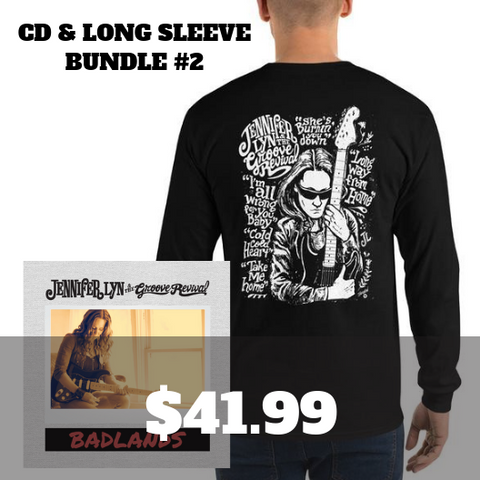 Badlands CD & Long Sleeve Bundle 2