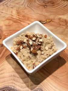 Peanut Butter Power Oats with Almonds
