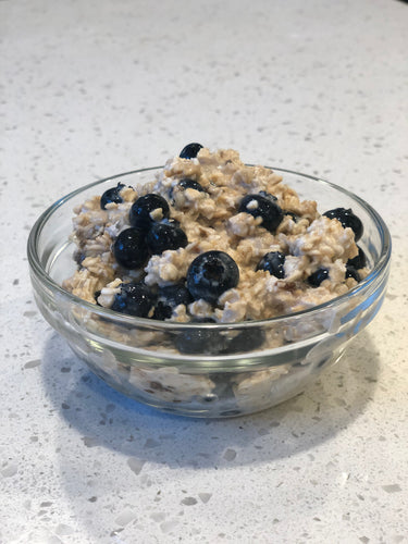 Power Oats with Seasonal Fruit