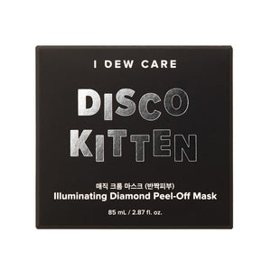 I Dew Care Disco Kitten Illuminating Diamond Peel-Off Mask
