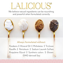 LALICIOUS Golden Oil - Shimmering Marula, Macadamia & Coconut Beauty Oil, Shimmer & Glow Oil for Body with Natural Mica (4 Ounces)