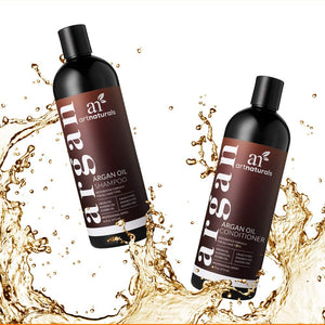 Organic Moroccan Argan Oil Shampoo and Conditioner Set