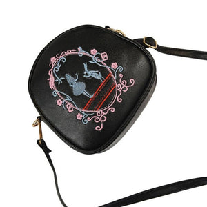 Print Leather Shoulder Bag
