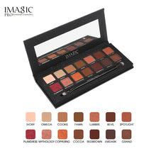 IMAGIC Eyeshadow Palette 14 Colors Shimmer and Matte with Brush