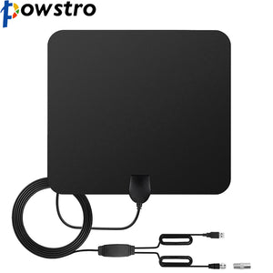 Powstro TV Antenna with Signal Amplifier Booster