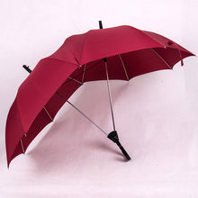Two-Pole Couple Umbrella