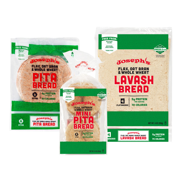 Free From Flax, Oat Bran & Whole Wheat Variety Pack