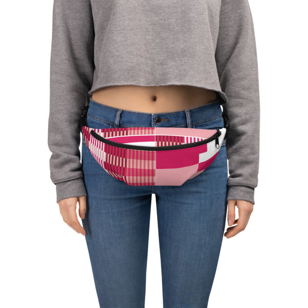 (GRACE) Kente-Inspired Hand-Sewn Luxury Fanny Pack-Phany's