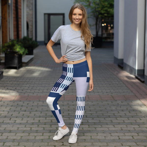 (BALANCE) Kente-Inspired Hand-Sewn 4-Way Stretch Leggings - Phany's