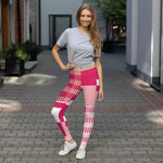(GRACE) Kente-Inspired Hand-Sewn 4-Way Stretch Leggings-Phany's