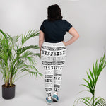 (EXHALE) MudCloth-Inspired Hand-Sewn 4-Way Stretch Luxury Plus Leggings-Phany's