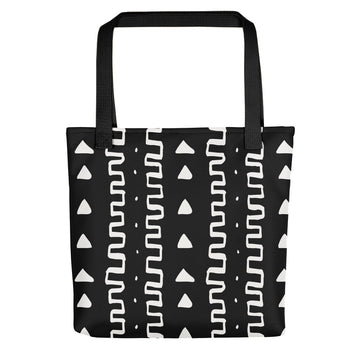 (INHALE) Bogolan-Inspired Hand-Sewn Tote Bag