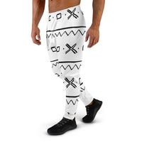 (EXHALE) Mudcloth pattern Men's Joggers-Phany's