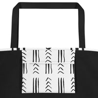 (EXHALE) Mucloth-Inspired Luxury Tote Bag-Phany's