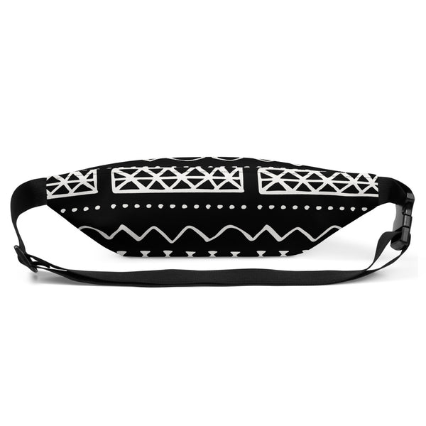 (INHALE) MudCloth-Inspired Hand-Sewn Luxury Fanny Pack-Phany's
