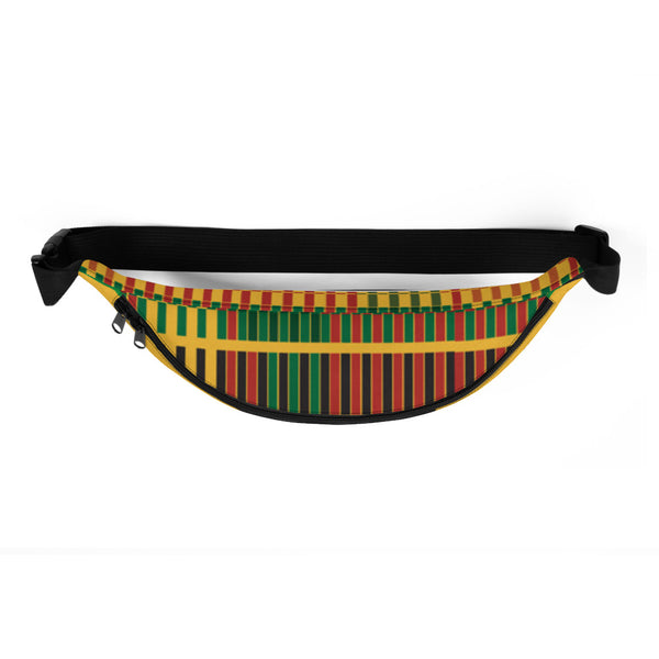 (STRENGTH) Kente-Inspired Hand-Sewn Luxury Fanny Pack-Phany's