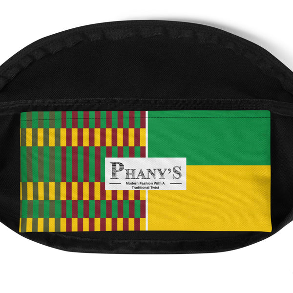 (EARTH) Kente-Inspired Hand-Sewn Luxury Fanny Pack-Phany's