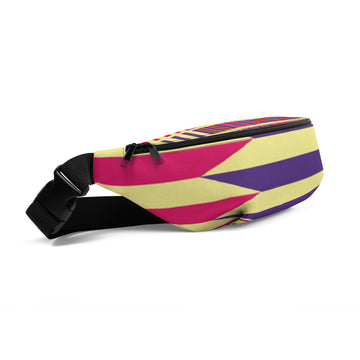 (LIFE) Kente-Inspired Luxury Fanny Pack